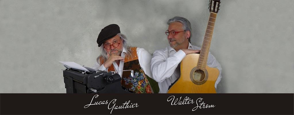Walter Strom und Lucas Gauthier